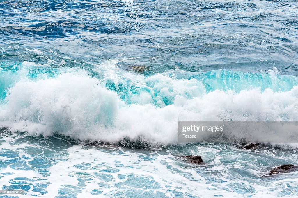Waves in ocean : Stock Photo