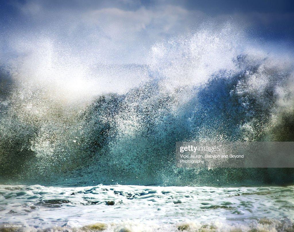 Waves of Fury at Robert Moses Beach