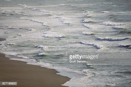 Waves on a beach : Stock Photo