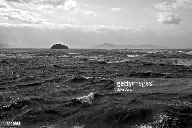 Waves on Seto Inland sea
