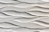 Wall with wave pattern background