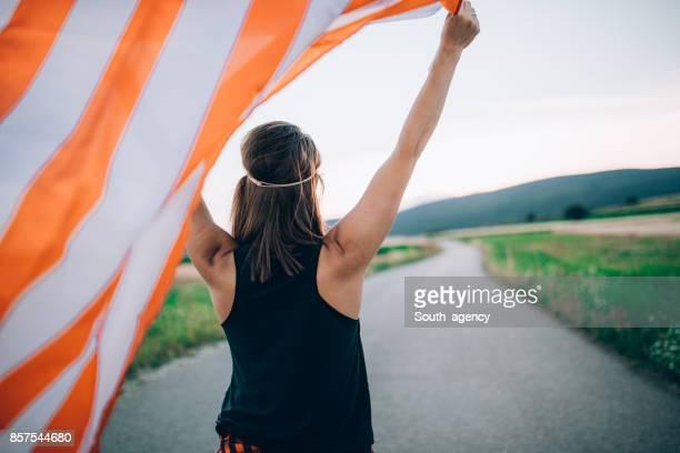 Waving my flag