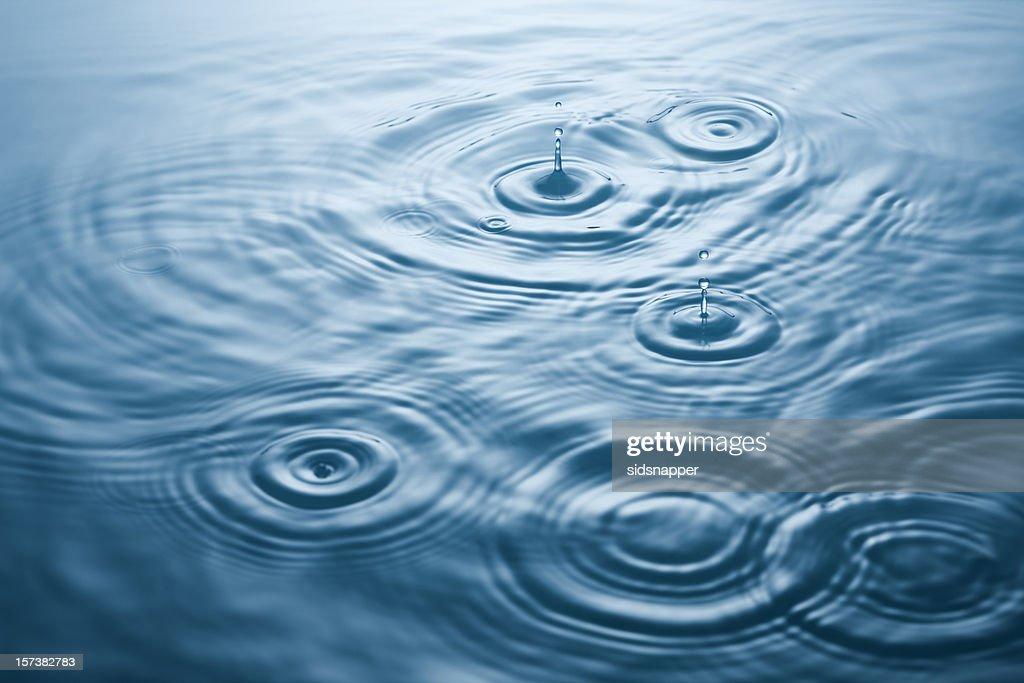 Wavy ripples : Stock Photo