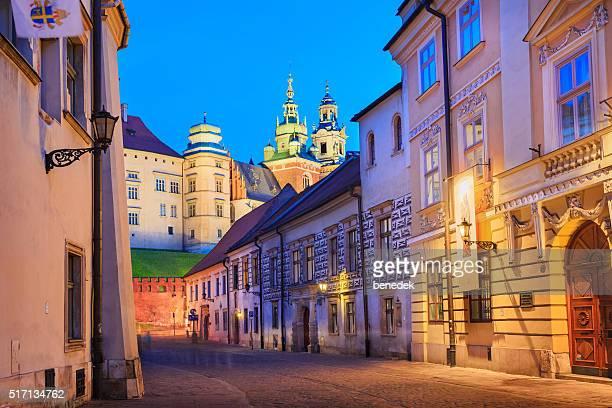 Castelo de Wawel da Cidade Velha de Cracóvia, Polónia