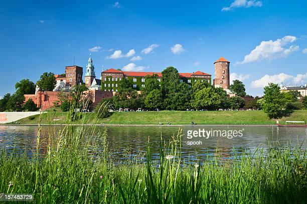 Castillo de Cracovia en Cracovia