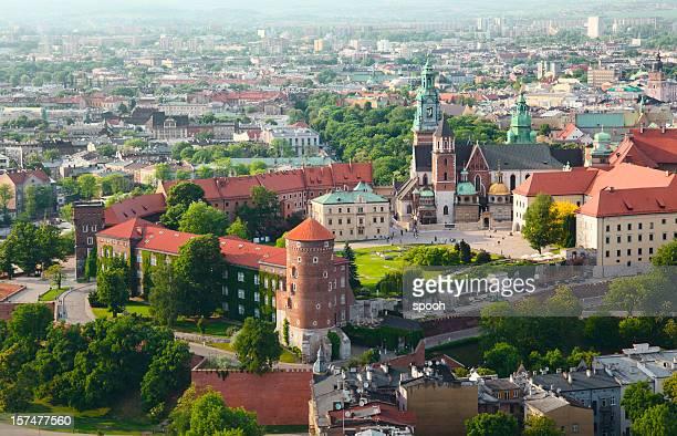 Castillo de Cracovia en Cracovia, Polonia