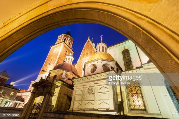 Wawel Cathedral during Christmas