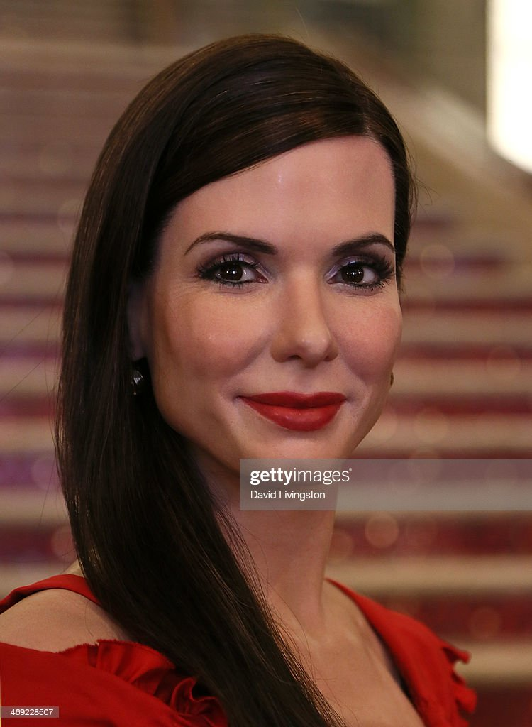 A wax figure of actress <a gi-track='captionPersonalityLinkClicked' href=/galleries/search?phrase=Sandra+Bullock&family=editorial&specificpeople=202248 ng-click='$event.stopPropagation()'>Sandra Bullock</a> dressed for the red carpet is unveiled by Madame Tussauds Hollywood at the grand staircase to the Dolby Theatre on February 13, 2014 in Hollywood, California.