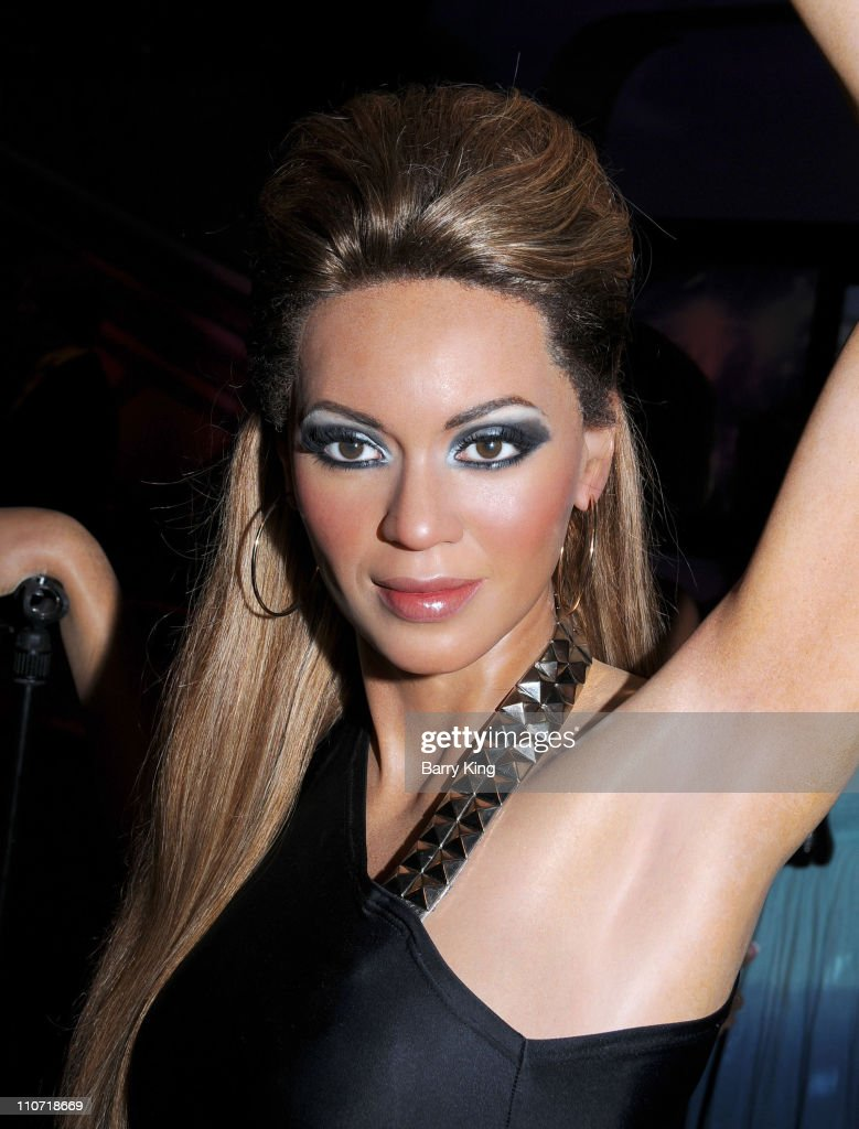 A wax figure of Beyonce is displayed at Madame Tussaud's Wax Museum on July 29, 2009 in Hollywood, California.
