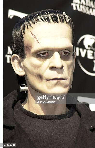 Wax figure of Boris Karloff as Frankenstein's Monster