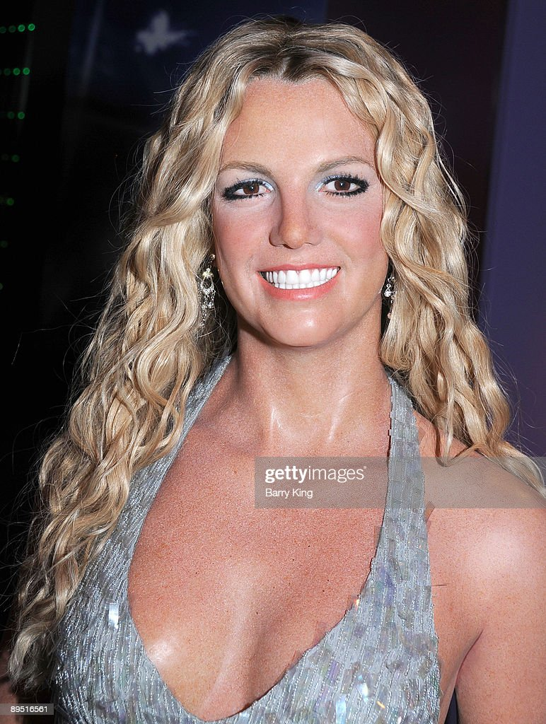 A wax figure of <a gi-track='captionPersonalityLinkClicked' href=/galleries/search?phrase=Britney+Spears&family=editorial&specificpeople=156415 ng-click='$event.stopPropagation()'>Britney Spears</a> is displayed at Madame Tussaud's Wax Museum on July 29, 2009 in Hollywood, California.