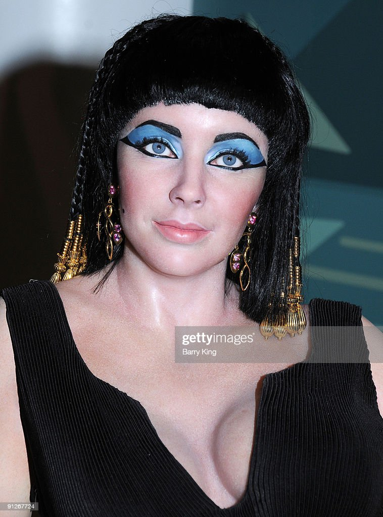 A wax figure of Elizabeth Taylor (as Cleopatra) is displayed at Madame Tussaud's Wax Museum on July 29, 2009 in Hollywood, California.