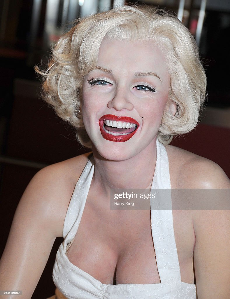 A wax figure of Marilyn Monroe is displayed at Madame Tussaud's Wax Museum on July 29, 2009 in Hollywood, California.