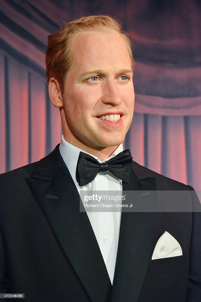 A wax figure of Prince William, Duke of Cambridge is unveiled as The British Royal Family Wax Figures arrive at Madame Tussauds on May 5, 2015 in Washington, DC.