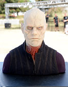 A wax figure of Quinlan from 'The Strain' is seen on display at FXhibition during ComicCon International 2016 at Hilton Bayfront on July 21 2016 in...