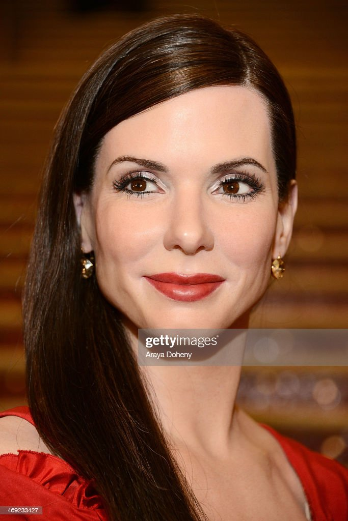 A wax figure of <a gi-track='captionPersonalityLinkClicked' href=/galleries/search?phrase=Sandra+Bullock&family=editorial&specificpeople=202248 ng-click='$event.stopPropagation()'>Sandra Bullock</a> at the Madame Tussauds Hollywood Unveils <a gi-track='captionPersonalityLinkClicked' href=/galleries/search?phrase=Sandra+Bullock&family=editorial&specificpeople=202248 ng-click='$event.stopPropagation()'>Sandra Bullock</a> Wax Figure event at Madame Tussauds on February 13, 2014 in Hollywood, California.