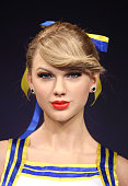 A wax figure of Taylor Swift is unveiled at Madame Tussauds on February 10 2015 in London England