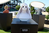 A wax figure of The White Nun is seen on display at FXhibition during ComicCon International 2016 at Hilton Bayfront on July 21 2016 in San Diego...