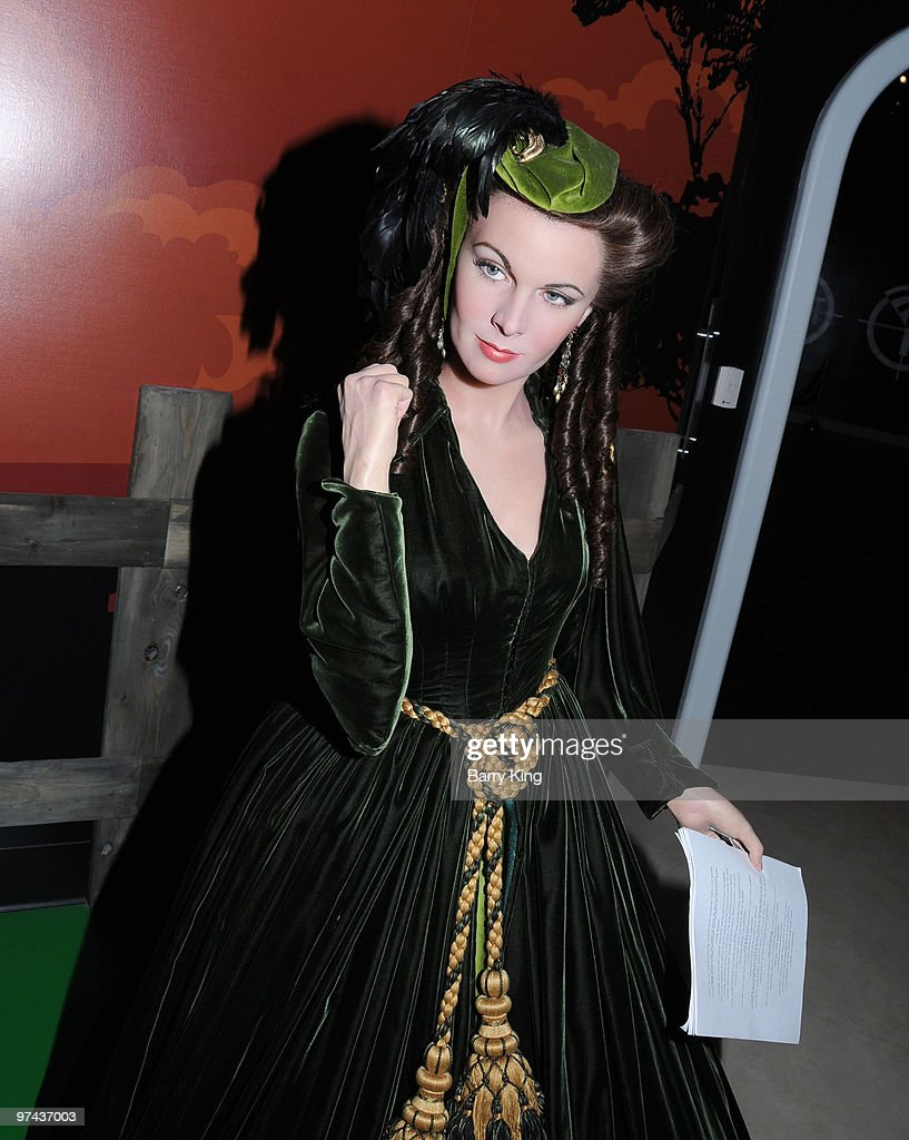 A wax figure of Vivien Leigh is displayed at Madame Tussaud's Wax Museum on July 29, 2009 in Hollywood, California.