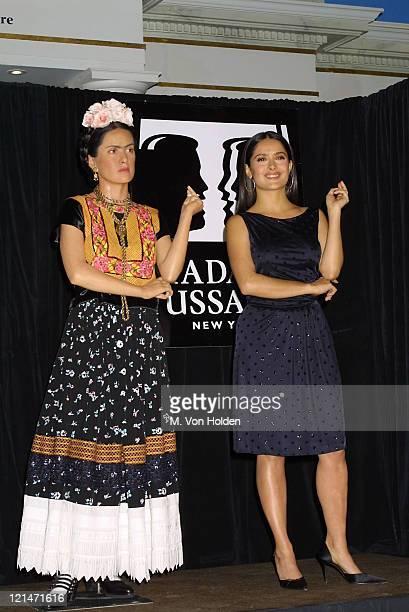 Wax Figure Salma Hayek during People Magazine People en Espanol and Madame Tussaud's Unveil New Wax Figure of Salma Hayek as Frida Kahlo at Madame...