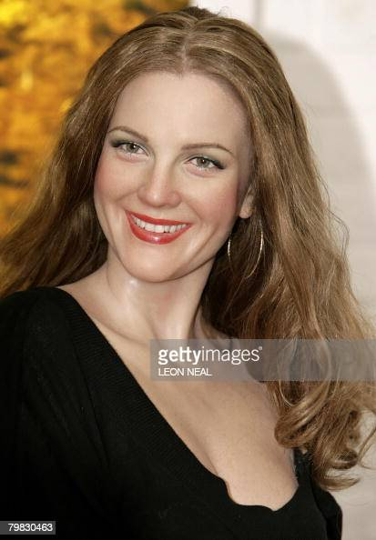 A wax model of US hollywood film star Drew Barrymore is unveiled at Madame Tussauds Museum in London on February 19 2008 The model will be displayed...