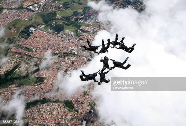 8 way skydive