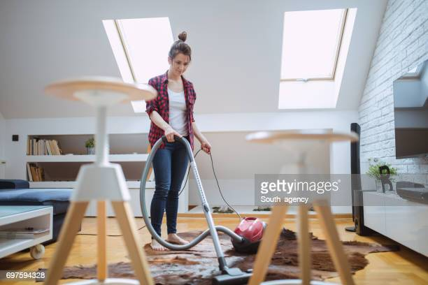 Way to clean the house