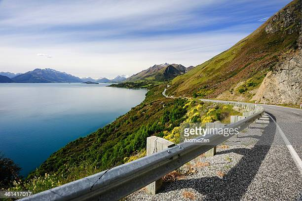 Way to Kinloch, New Zealand