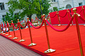 Way to success on the red carpet.