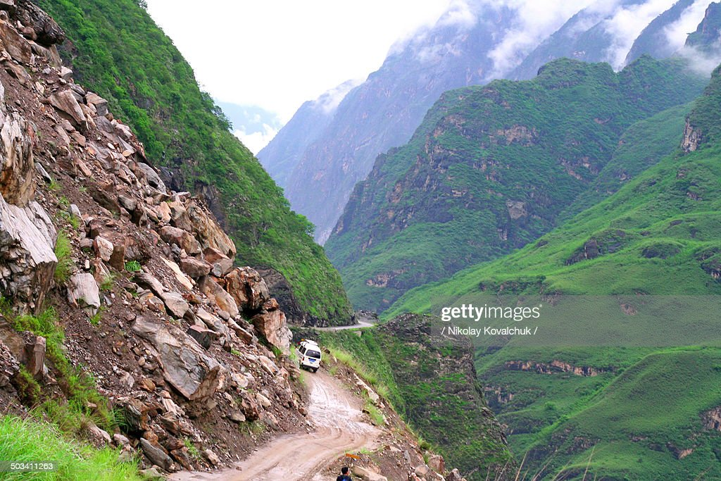 Way to Tiger leaping gorge