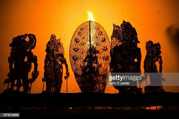 Wayang kulit or shadow puppet theater Performances of shadow puppet theater are accompanied by gamelan in Indonesia Shadow puppets are a play of...