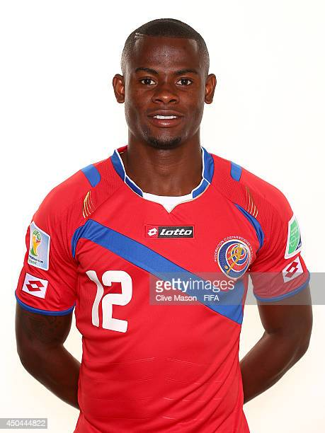 Waylon Francis of Costa Rica poses during the official FIFA World Cup 2014 portrait session on June 10 2014 in Sao Paulo Brazil