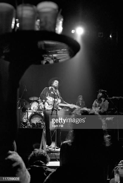 Waylon Jennings during Waylon Jennings in Concert at Alex Cooley's Capri Ballroom in Atlanta February 17 1979 at Alex Cooley's Capri Ballroom in...