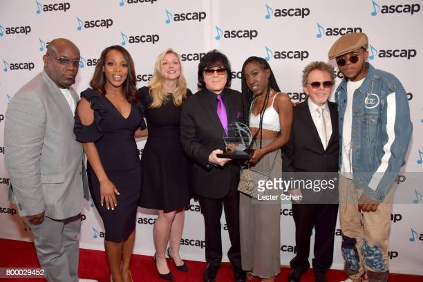 Wayne Barrow Vice President Rhythm Soul/ Urban Membership ASCAP Nicole GeorgeMiddleton ASCAP CEO Elizabeth Matthews EVP/ Membership ASCAP John Titta...