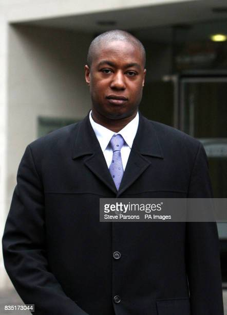 Wayne Bell during a break from an employment tribunal in Watford Hertfordshire after giving evidence against the Metropolitan Police for claims of...