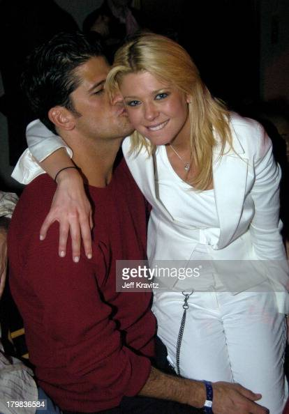 Wayne Boich and Tara Reid during Playboy's 5th Annual Super Saturday Night Event Brings Heaven and Hell to Houston at Corinthian in Houston Texas...