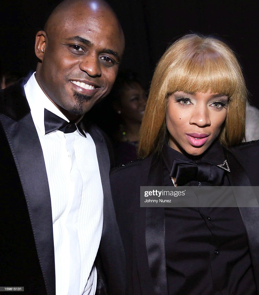 Wayne Brady and Lil Mama attend The Hip-Hop Inaugural Ball II at Harman Center for the Arts on January 20, 2013 in Washington, DC.
