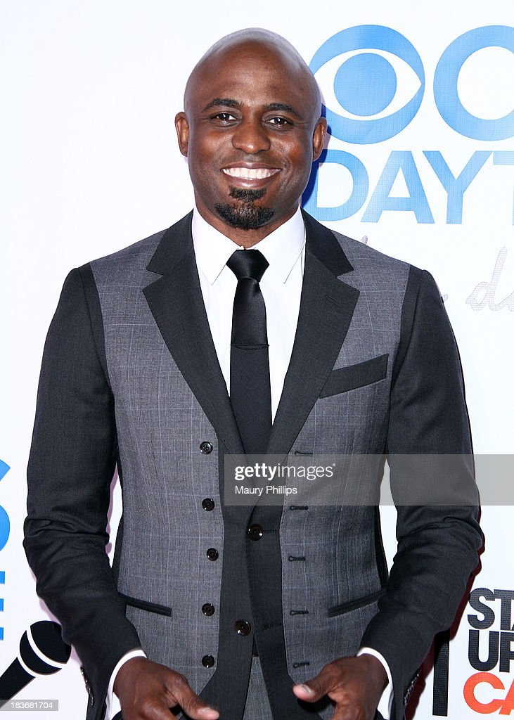 <a gi-track='captionPersonalityLinkClicked' href=/galleries/search?phrase=Wayne+Brady+-+Actor&family=editorial&specificpeople=217495 ng-click='$event.stopPropagation()'>Wayne Brady</a> arrives at CBS After Dark - A Evening of Laughter benefiting stand up to cancer at The Comedy Store on October 8, 2013 in West Hollywood, California.