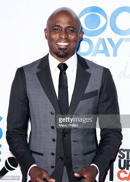 Wayne Brady arrives at CBS After Dark A Evening of Laughter benefiting stand up to cancer at The Comedy Store on October 8 2013 in West Hollywood...