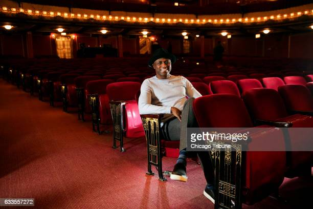 Wayne Brady who took over the role of Aaron Burr in the Chicago production of 'Hamilton' two weeks ago relaxes before performing on Tuesday Jan 31...