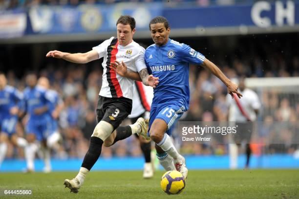 Wayne Bridge / Florent Malouda Chelsea / Manchester City 28e journee Premier league Photo Dave Winter / Icon Sport
