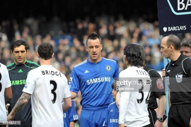 Wayne BRIDGE refuse de serrer la main de John TERRY Chelsea / Manchester City 28e journee Premier league Photo Dave Winter / Icon Sport