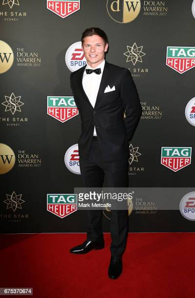 Wayne Brown arrives ahead of the FFA Dolan Warren Awards at The Star on May 1 2017 in Sydney Australia