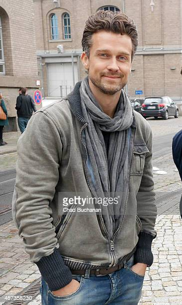 Wayne Carpendale sighted at Sat1 television studios on October 17 2014 in Berlin Germany