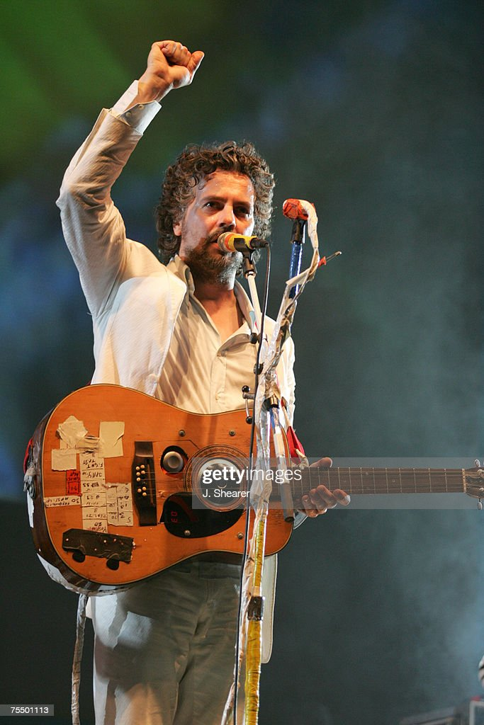 Wayne Coyne of The Flaming Lips at the Empire Polo Fields in Indio, California