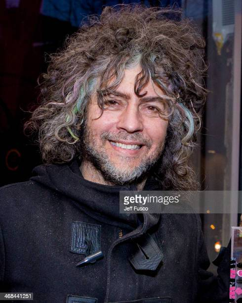 Wayne Coyne of the Flaming Lips attends the 'The Flaming Lips 1st EP' fan event at AKA Music February 10 2014 in Philadelphia Pennsylvania