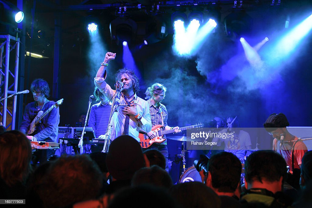 Wayne Coyne of The Flaming Lips perform at The Warner Sound captured by Nikon during the 2013 SXSW Music, Film + Interactive Festival at The Belmont on March 14, 2013 in Austin, Texas.