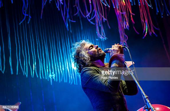 Wayne Coyne of The Flaming Lips performs At The O2 Academy Brixton at O2 Academy Brixton on January 21 2017 in London England