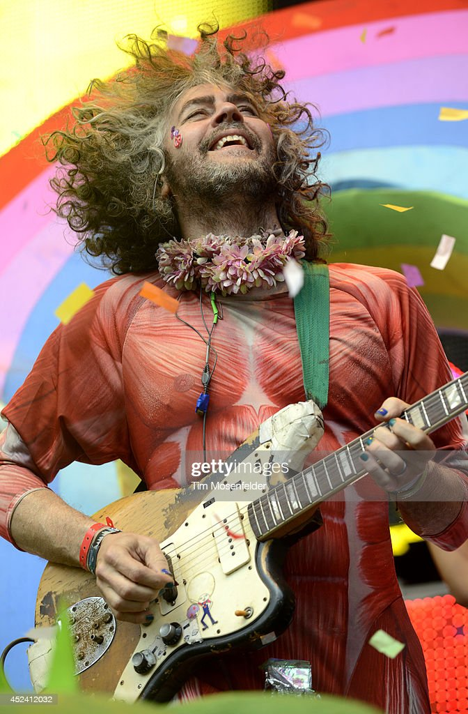 Wayne Coyne of the Flaming Lips performs during the Pemberton Music and Arts Festival at on July 19, 2014 in Pemberton, British Columbia.