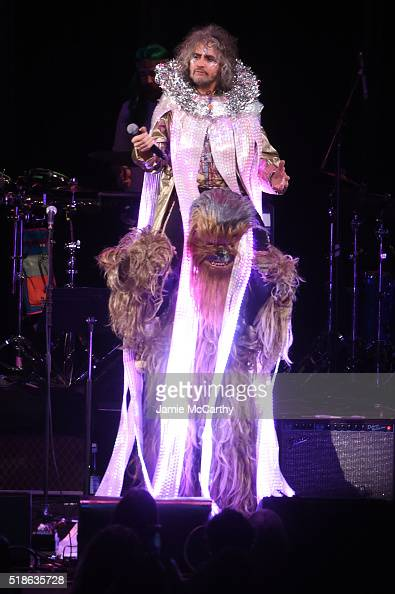 Wayne Coyne of The Flaming Lips performs 'life On Mars' onstage at The Music Of David Bowie At Radio City Music Hall at Radio City Music Hall on...